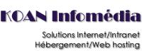 KOAN-Infomédia, solutions Internet/Intranet, Hébergement/Web Hosting